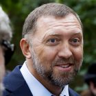 """FILE - In this July 2, 2015, file photo, Russian metals magnate Oleg Deripaska attends Independence Day celebrations at Spaso House, the residence of the American Ambassador, in Moscow, Russia. Federal agents have conducted """"law enforcement activity"""" at the Washington, D.C., home of Russian oligarch Oleg Deripaska. The wealthy Russian who made his money in the aluminum business is a close ally of Russian President Vladimir Putin.  (AP Photo/Alexander Zemlianichenko, File)"""